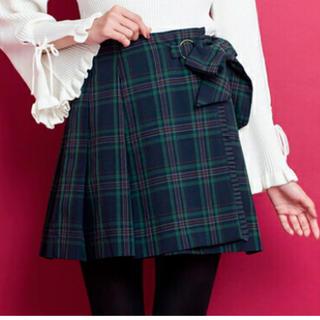 シークレットハニー(Secret Honey)のシークレットハニー ラップ風チェック柄スカート(ミニスカート)