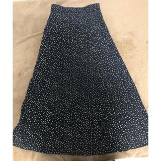 フィーニー(PHEENY)のドットスカート(ロングスカート)