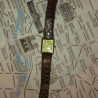 カルティエ(Cartier)のカルティエ VERMEIL 925 クォーツ ジャンク(腕時計)