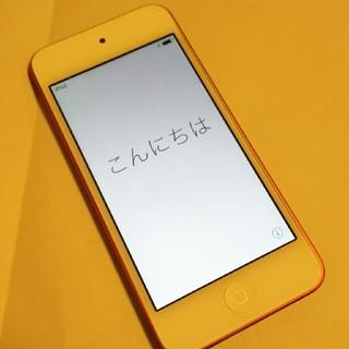 アイポッドタッチ(iPod touch)のiPod touch 第6世代 レッド 64GB(ポータブルプレーヤー)