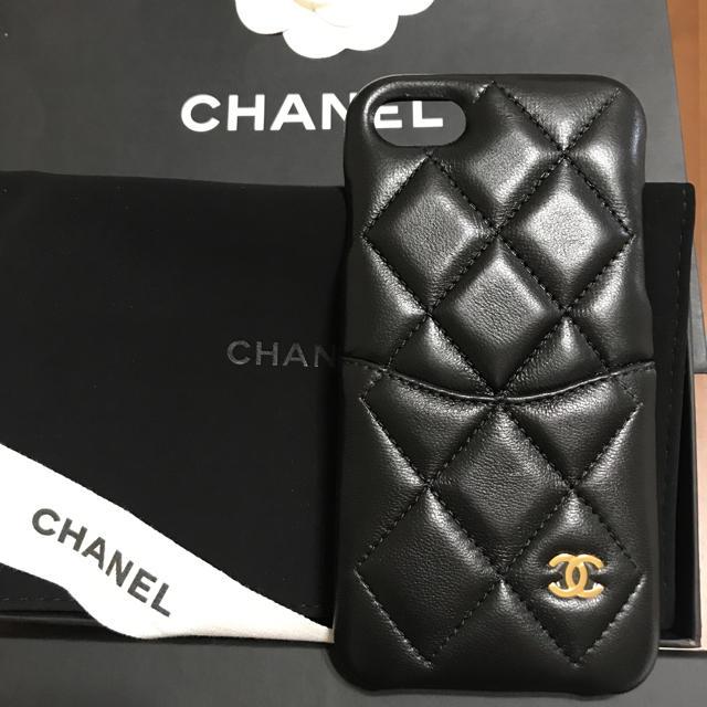 ヴィトン iphone7ケース 発売いつ 、 CHANEL - シャネル iPhone8 ケース 新品未使用の通販 by aloha_ee's shop|シャネルならラクマ
