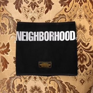 ネイバーフッド(NEIGHBORHOOD)のネイバーフッド ネックウォーマー 黒 おまけ付き(ネックウォーマー)