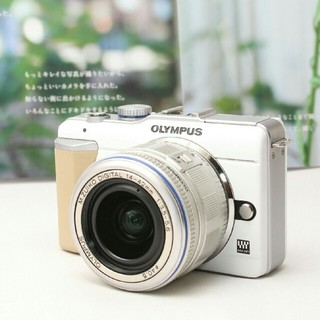 OLYMPUS - ❤ミラーレス一眼入門❤可愛い写真は可愛いカメラで♪OLYMPUS E-PL1