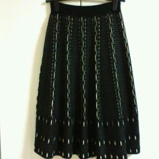 アーモワールカプリス(armoire caprice)のアーモワールカプリスのニットスカート(ひざ丈スカート)