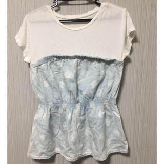 ジーユー(GU)のGU Tシャツ レディース S(Tシャツ(半袖/袖なし))