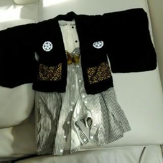 袴ロンパース 90 はかま(和服/着物)