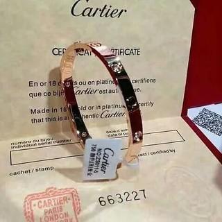 カルティエ(Cartier)のカルティエ ラブブレス ピンクゴールド(ブレスレット/バングル)