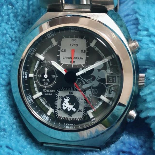237fa107bce0 ALBA(アルバ)のALBA AKA ディズニー ミッキー&プルート 腕時計 レディースのファッション小物