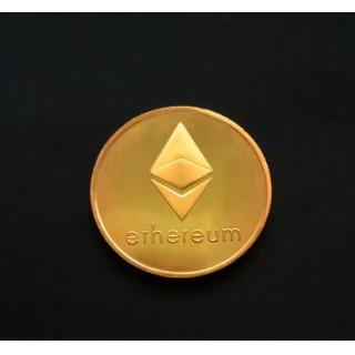Ethereum コイン ゴールド 金運! 仮想通貨 イーサリアム(その他)