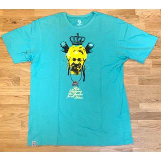 ナインルーラーズ(NINE RULAZ)の【中古】NINE RULAZ LINE Tシャツ XL ターコイズ(Tシャツ/カットソー(半袖/袖なし))