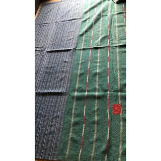 アッシュペーフランス(H.P.FRANCE)のふじ様専用   ラリーキルト  刺し子マルチカバー カンタ刺繍(ラグ)
