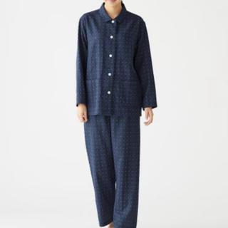 ムジルシリョウヒン(MUJI (無印良品))の脇に縫い目のない 二重ガーゼ パジャマ・婦人M(パジャマ)