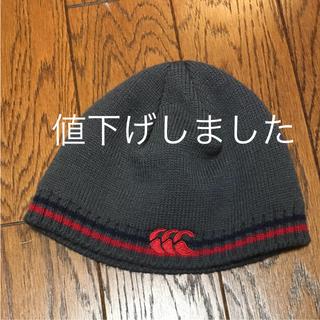 カンタベリー(CANTERBURY)のカンタベリー キッズニット帽(帽子)