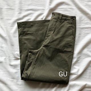 ジーユー(GU)のGU パンツ カーキ (カジュアルパンツ)