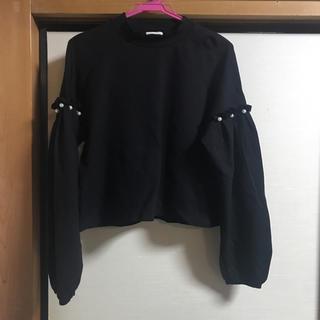 ジーユー(GU)の服(トレーナー/スウェット)