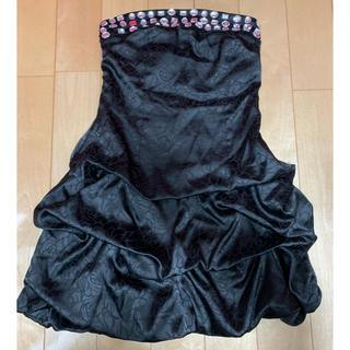 ビジュー ドレス(ミニドレス)