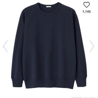 ジーユー(GU)のGU 新品 メンズスウェットシャツ Mサイズ(スウェット)