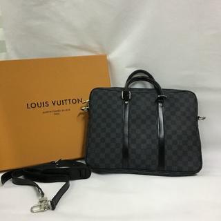 ルイヴィトン(LOUIS VUITTON)のダミエ LOUIS VUITTON ルイヴィトン 2way メンズ トートバッグ(ビジネスバッグ)