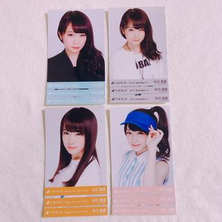 ノギザカフォーティーシックス(乃木坂46)の秋元真夏 生写真コンプ ×4(女性アイドル)