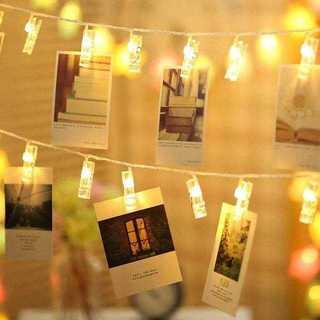 今だけ価格?LEDストリングライト 写真/絵クリップ 結婚式/誕生日/パーティー(その他)