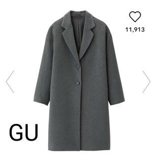 ジーユー(GU)のGU コート (チェスターコート)