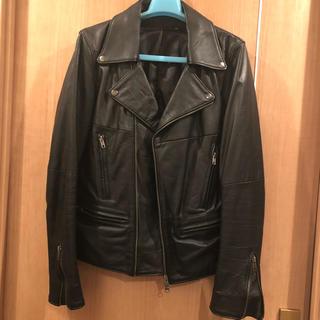 エルエイチピー(LHP)のLHP レザーライダース 本革 羊革 ライダースジャケット(ライダースジャケット)
