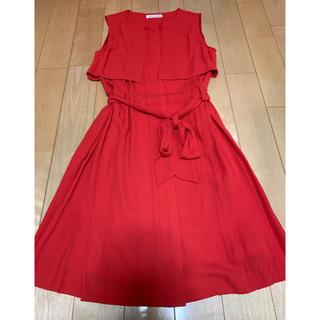 アルファベットアルファベット(Alphabet's Alphabet)のAlphabet's Alphabet  赤 ドレス(ミディアムドレス)