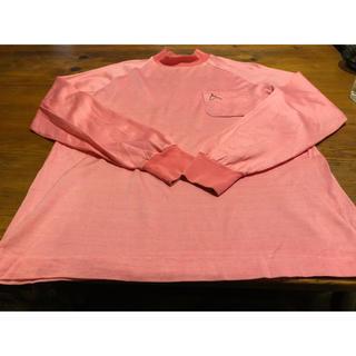 トロイ(TOROY)の古着 トロイブロス カットソー M ピンク(Tシャツ/カットソー(七分/長袖))