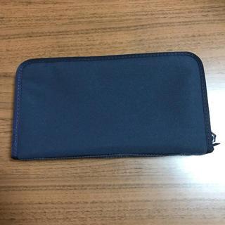 ムジルシリョウヒン(MUJI (無印良品))の無印良品 パスポートケース ネイビー 未使用(旅行用品)