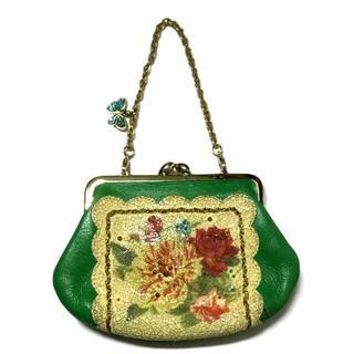 アナスイ(ANNA SUI)のアナスイ がま口型財布 USED品(コインケース)