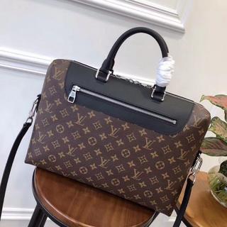 ルイヴィトン(LOUIS VUITTON)のLouis Vuitton ビジネスバッグ モノグラム 茶色 メンズ(ビジネスバッグ)