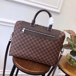 ルイヴィトン(LOUIS VUITTON)のLouis Vuitton ビジネスバッグ ダミエ 茶色 メンズ 美品(ビジネスバッグ)