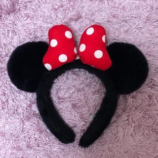 ディズニー(Disney)の☆ミニーちゃん カチューシャ★(カチューシャ)