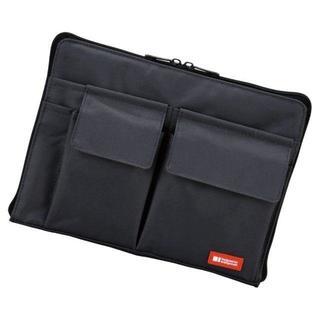 【在庫限り!!】バッグインバッグ 黒 A4 (トートバッグ)