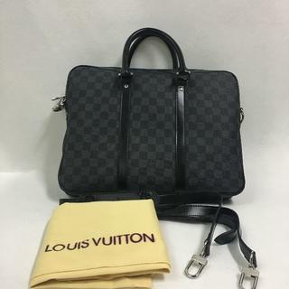 LOUISVUITTON ルイヴィトン ダミエ ビジネスバッグ 男性(ビジネスバッグ)