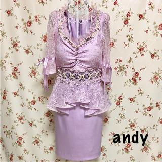 アンディ(Andy)のandy ドレス(ミニドレス)