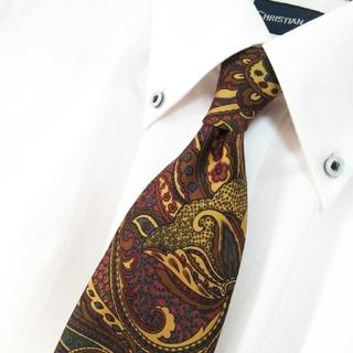 エンリココベリ(ENRICO COVERI)の美品 ENRICO COVERI シルク 総柄 ネクタイ イタリア製(ネクタイ)