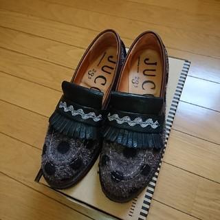 ジュコ(JUCO.)のやまびこドットローファー(ローファー/革靴)