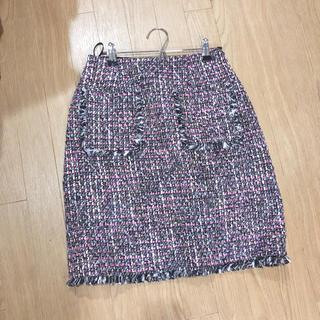 チェスティ(Chesty)のジョイントスペース スカート 美品(ひざ丈スカート)
