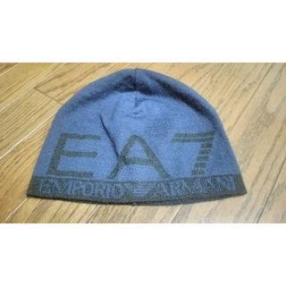 エンポリオアルマーニ(Emporio Armani)の新品 EMPORIO ARMANI EA7 ニット帽(ニット帽/ビーニー)