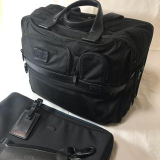 トゥミ(TUMI)のTUMI 26141D2  エクスパンダブル ブラック(ビジネスバッグ)