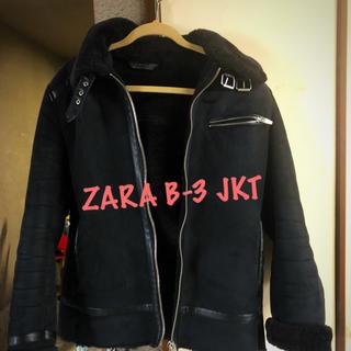 ザラ(ZARA)のZARA MAN B-3 ジャケット(ライダースジャケット)