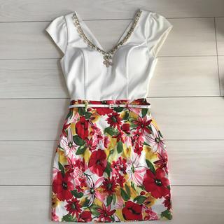 ROBEdeFLEURS/ドレス(ミニドレス)