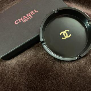 シャネル(CHANEL)の✩新品未使用✩ 灰皿 ブラック(灰皿)