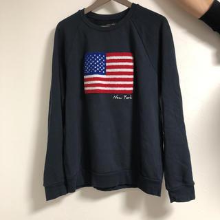 ザラ(ZARA)のロンハーマン風 アメリカ国旗スウェット(スウェット)