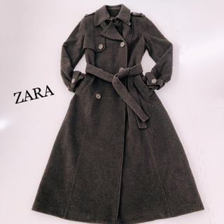 ザラ(ZARA)のZARA♡マキシ丈ロングコート(ロングコート)