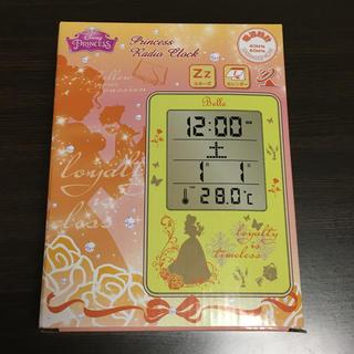 ディズニー(Disney)の★ディズニープリンセス 電波時計★(置時計)
