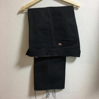 激安! ディッキーズ ワークパンツ 33×30 ブラック 5lack  bim(ワークパンツ/カーゴパンツ)