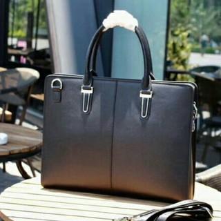 PRADAトートバッグ&ショルダーバッグ 大容量  メンズ鞄 通勤ビジネス (ビジネスバッグ)