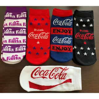 新品*Coca-Cola 靴下5足set(ソックス)